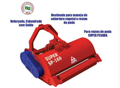 Earth Brasil - TRITURADOR SUPER SP 160 M